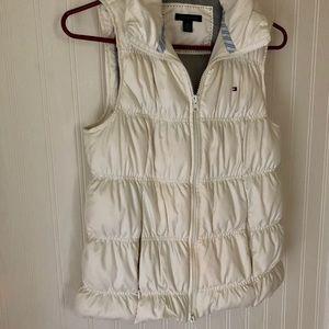 Tommy Hilfiger white puffy vest